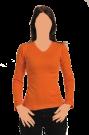 חולצת ריב שרוול ארוך